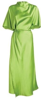Stine Goya Rhode Twist-Front Midi Dress