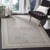 "Safavieh ARC671A-6 Archive Collection Grey and Blue Area Rug, 6' 7 "" x 9' 2 """