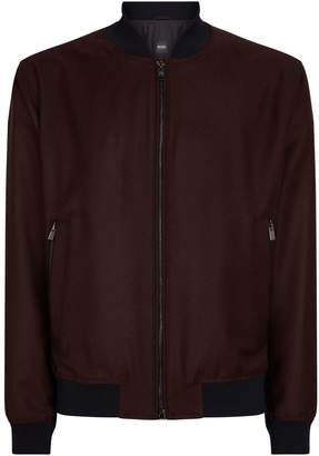 BOSS Wool Bomber Jacket