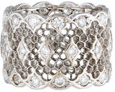 Buccellati Honeycomb Tulle Broccato Diamond Band