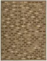 Nourison CHI01-099446085399 Joab2/Chicago (CHI01) Brown Rectangle Area Rug