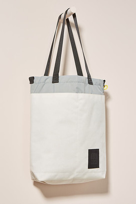Topo Designs Cinch Tote Bag By in White