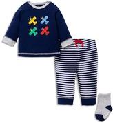 Little Me Boys' Airplane Tee, Joggers & Socks Set - Baby