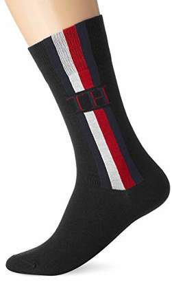Tommy Hilfiger TH Men Sock 2P Iconic Stripe,(Pack of 2)