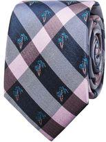 Ben Sherman Palm Tree Check Tie