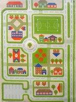 Luca and Company IVI Carpets, Traffic Green