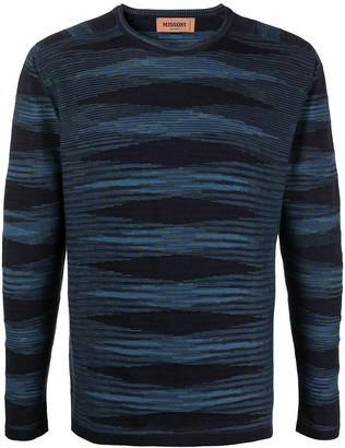 Missoni stripe-print long-sleeved T-shirt