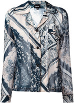Just Cavalli printed patch pocket shirt