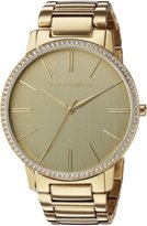 Vince Camuto Women's Quartz Stainless Steel Dress Watch, Color:-Toned (Model: VC/5328CHGB)