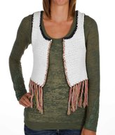 Gimmicks By BKE Crochet Sweater Vest