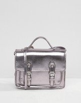 Asos Metallic Mini Satchel Bag