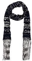 M Missoni Metallic Knit Scarf w/ Tags