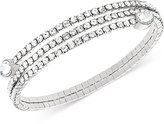Swarovski Twisty Crystal Pear-Shaped Bangle Bracelet