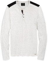 GUESS Men's Floyd Henley Shirt