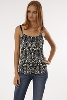 Velvet Saskia Top in Black