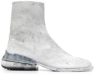 Maison Margiela Tabi Airbag heel ankle boots