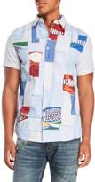 Desigual Salsa Patchwork Shirt