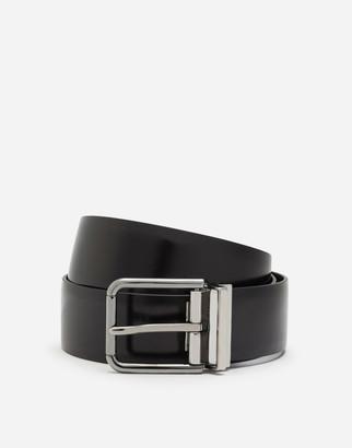 Dolce & Gabbana Polished Leather Belt