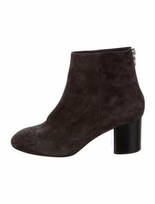 Rag & Bone Suede Boots Grey