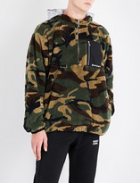 Palm Angels Camouflage-print fleeced hoody