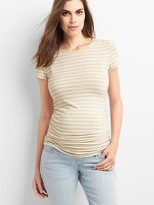 Maternity Pure Body stripe crew tee