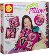 Alex Craft Giant Knot and Stitch Pillow Kit