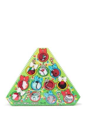 Betsey Johnson 12 Days of Christmas Socks - Pack of 12