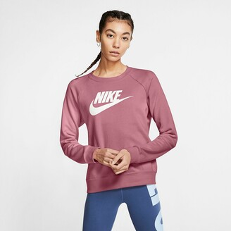Nike Cotton Mix Sweatshirt with Crew-Neck