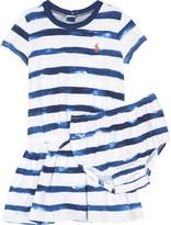 Ralph Lauren Pony striped cotton dress 3-24 months