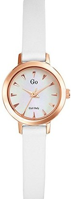 Go girl only Women's Quartz Watch Analogue Display and Leather Strap 698641