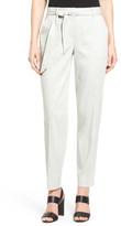 Nordstrom &Mesa& Linen Blend Tie Belt Pants
