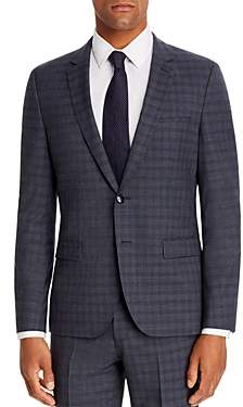 HUGO Arti Small Plaid Extra Slim Fit Suit Jacket