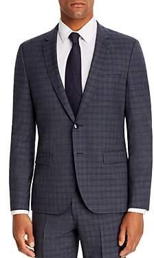 HUGO Arti Small Plaid Extra Slim Fit Suit Jacket