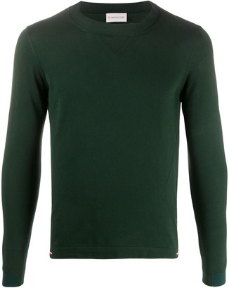 Moncler Cotton Long-Sleeve Jumper