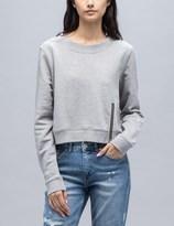 Cheap Monday Exact Zip Sweatshirt