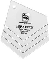 Simplicity EZ Quilting Simply Crazy Template
