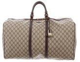 Gucci Large GG Plus Duffle Bag