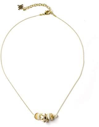 Akola Dainty Chain Necklace With Bone