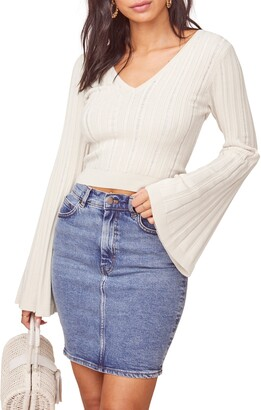 ASTR the Label Voyage Crop Sweater