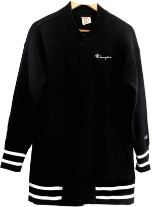 Champion Black Cotton Jackets
