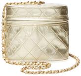 Chanel Gold Metallic Binocular Mini