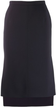 No.21 Step-Hem Skirt