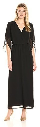 James & Erin Women's Angel Sleeve Maxi