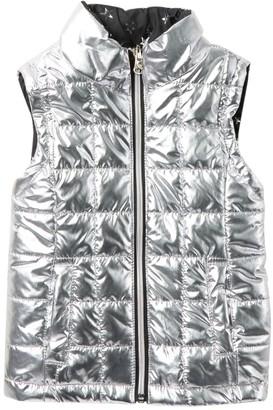 Urban Republic Quilted Reversible Vest (Toddler & Little Girls)