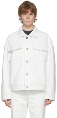 Acne Studios Off-White Canvas Jacket