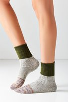 Out From Under Colorblocked Marled Crew Sock