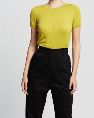David Lawrence Caley Cotton Knit Top