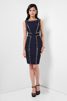 Terani Couture Sophisticated Body-fitting sleeveless Dress 1621C1260