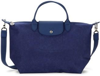 Longchamp Nylon Top Handle Bag