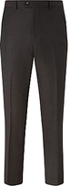 John Lewis Woven In Italy Milled Birdseye Tailored Suit Trousers, Brown